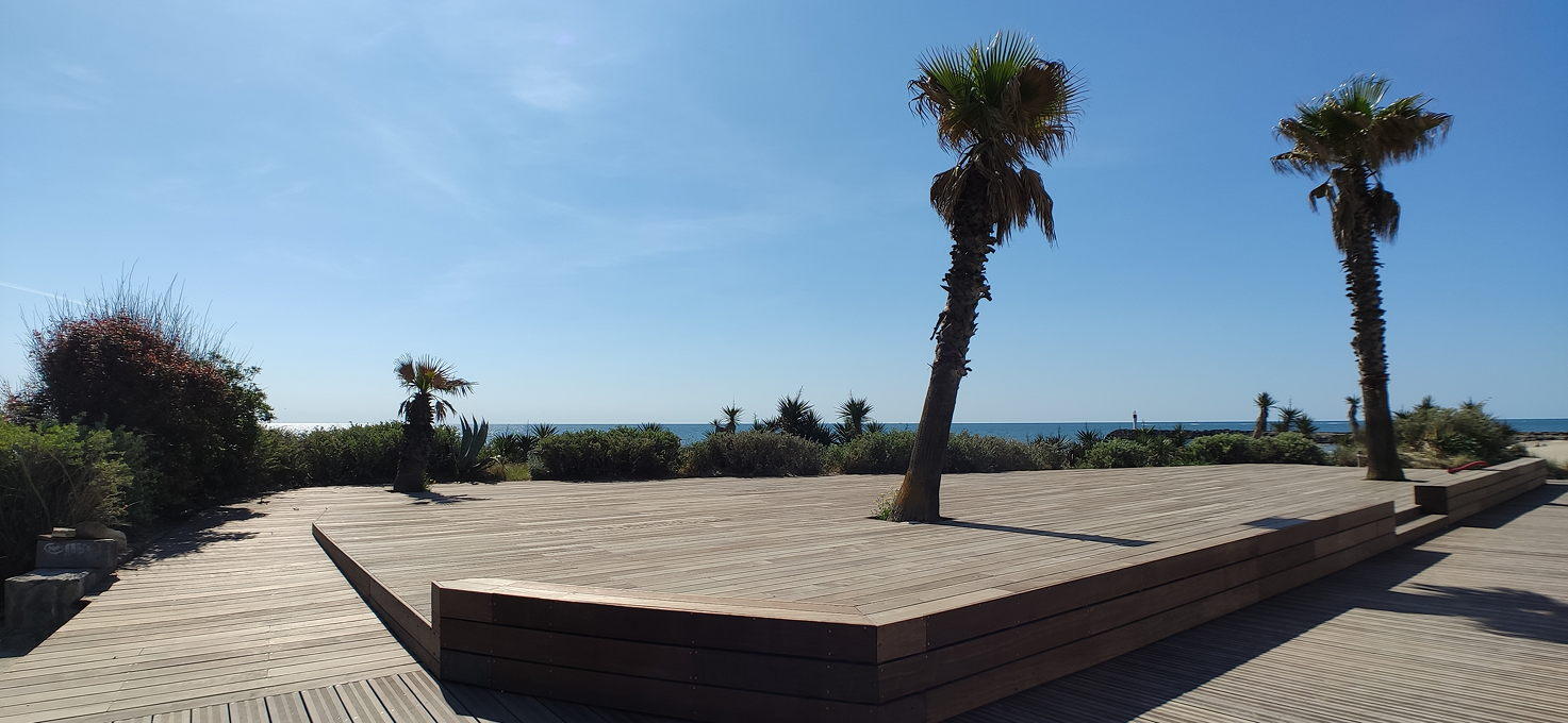 Terrasse port nature